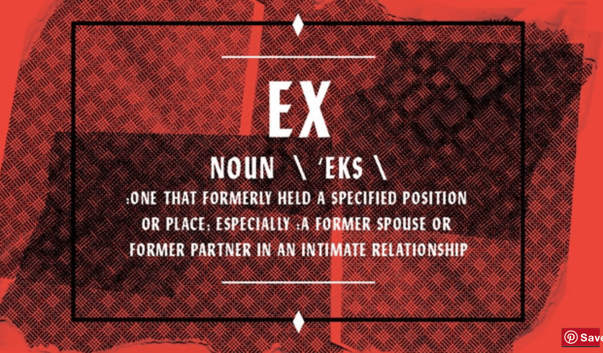 "A Toyboy Can Be Called An ""Ex"""