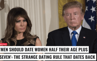The strange dating rule that dates back to 1901