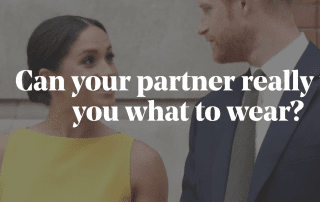 Can your partner really tell you what to wear